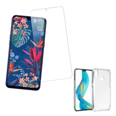 [買保護貼送手機殼] Realme 3 Pro 非滿版 9H鋼化玻璃膜 手機 保護貼 (Realme3Pro保護貼 Realme3Pro鋼化膜 )