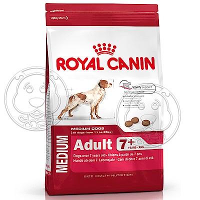 法國皇家SM25《中型成熟犬7+》飼料-4kg