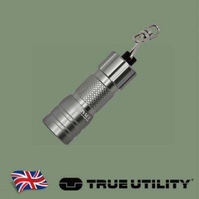 【TRUE UTILITY】英國多功能高聚光迷你手電筒Compact MicroLite