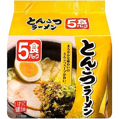 北勢麵粉 北勢5入包麵-豚骨風味(415g)