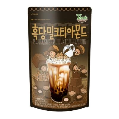 韓國Toms Gilim 杏仁果-黑糖奶茶味(190g)