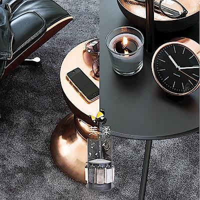范登伯格 - 芙柔 超柔軟仿羊毛地毯 - 黑灰 (140 x 200cm)