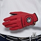 【Lynx Golf】Asher Chuck 多色系列男款防滑彈性高爾夫左手手套-紅色 product thumbnail 2