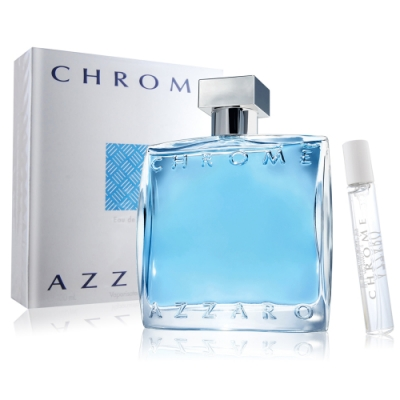 AZZARO 海洋鉻元素男性淡香水100ml-加贈隨機小香