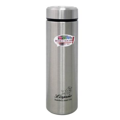 LOYANO羅亞諾 316不鏽鋼保溫杯瓶480ml(白鐵色) LY-077
