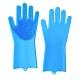 矽膠清潔手套(1雙) 洗碗手套  洗菜手套 product thumbnail 1