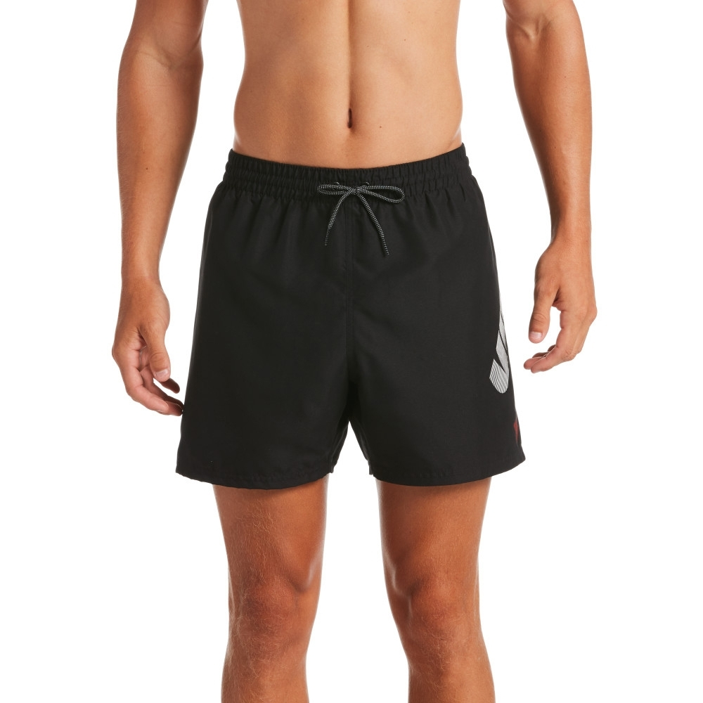NIKE  成人 舒適  五吋 短褲 海灘褲  男款 黑 NESSA455-001