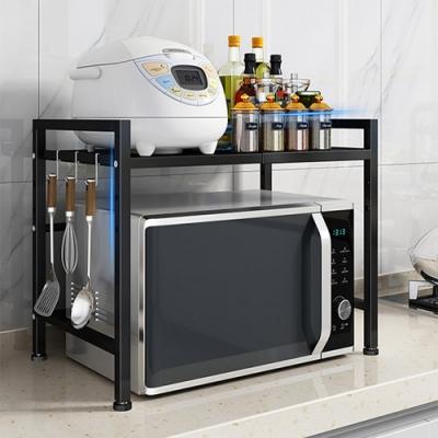 【居家嚴選】昇級版廚房加大耐重伸縮置物架(伸縮設計好搭配)