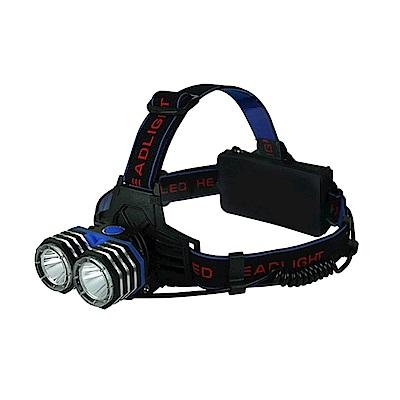 KINYO 雙T6鋁合金LED強光頭燈