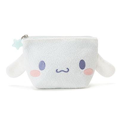 Sanrio 大耳狗喜拿雲朵軟綿綿系列大臉造型絨毛面紙化妝包