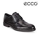 ECCO VITRUS III 潮流正裝雕花紳士德比鞋 男-黑
