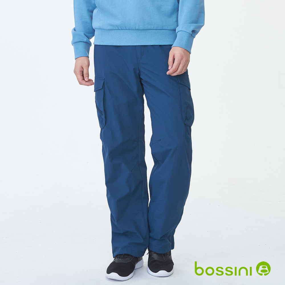 bossini男裝-高效熱能雪褲皇家藍