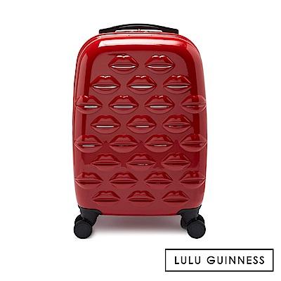 LULU GUINNESS SPINNER 行李箱-經典紅-20吋