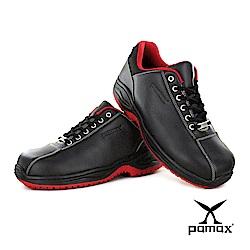 PAMAX帕瑪斯止滑鞋【超彈力氣墊、雙色鞋帶止滑安全鞋】抗滑工作鞋、男女