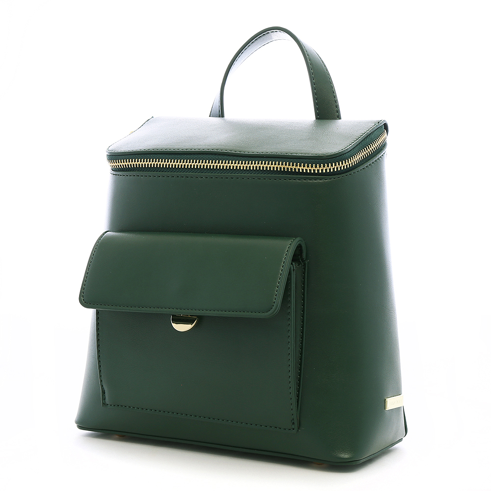 ANNA DOLLY 俏麗兩用郵筒包 古典綠