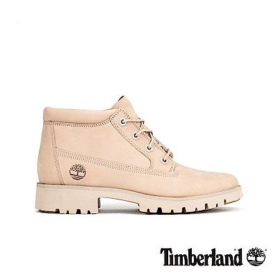 Timberland 女款淺褐色磨砂革經典靴 A1VZ8