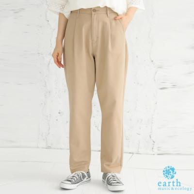 earth music 美國棉錐形剪裁奇諾褲