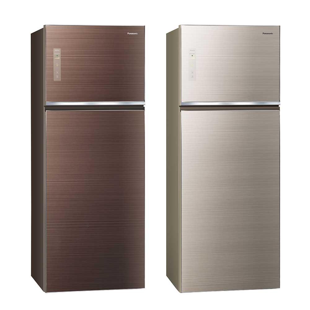 Panasonic國際牌 485L 1級變頻2門電冰箱 NR-B489TG 台松