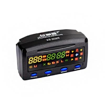 征服者 XR-3089 GPS測速警示器 單機版(不含室外機)