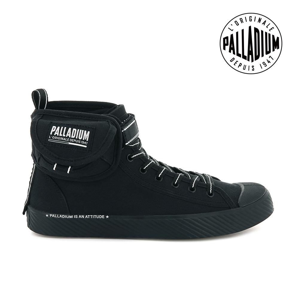 PALLADIUM PALLAPHOENIX 高筒帆布鞋-女-黑