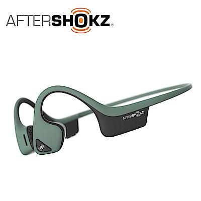 AFTERSHOKZ Trekz Air AS650骨傳導藍牙運動耳機(森林綠)