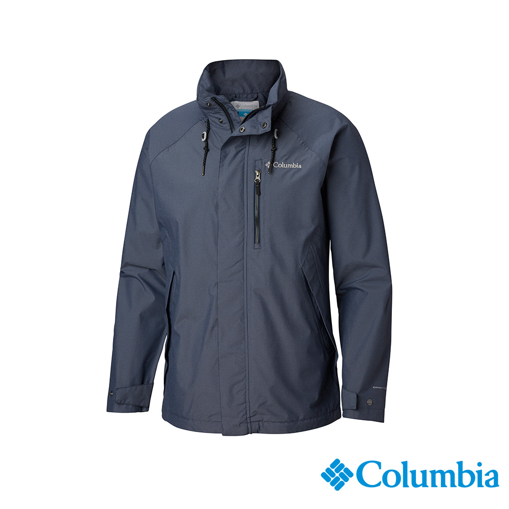 Columbia 哥倫比亞 男款-OT防水外套-深藍 UWE12840NY
