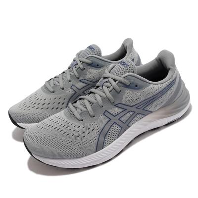 Asics 慢跑鞋 GEL Excite 8 基本 男鞋 亞瑟士 耐用 支撐 輕量 緩衝 亞瑟膠 灰 白 1011B036026