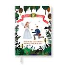 7321 Design 純真童話萬年曆週誌(無時效)-羅密歐與茱麗葉