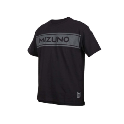 MIZUNO 男 1906系列短袖T恤 黑灰