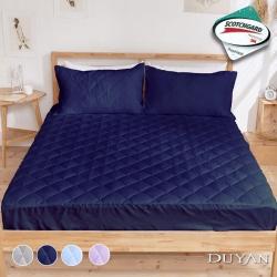 DUYAN竹漾-3M防潑水透氣雙人床包式保潔墊-多款任選