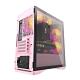 darkFlash DLM22 M-ATX 電腦機殼/機箱-粉(含12公分排風扇) – DF01-0039 product thumbnail 1