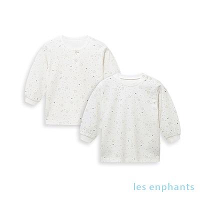 les enphants 天絲系列兩件組上衣 白色