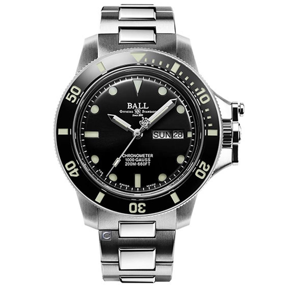 BALL 波爾錶 Engineer Hydrocarbon系列 瑞士天文台機械錶 (DM2118B-SCJ-BK)黑/40mm