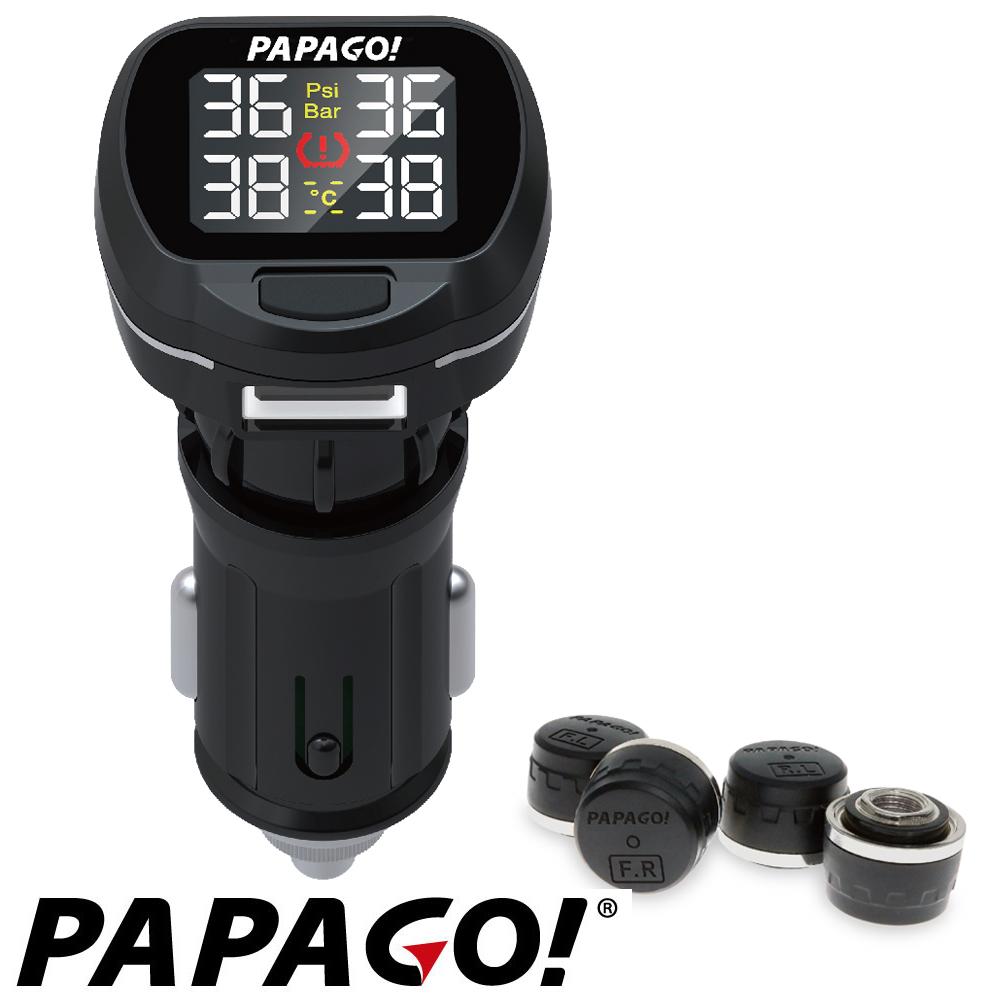 PAPAGO ! TireSafe S22E 獨立型胎外式胎壓偵測器-快