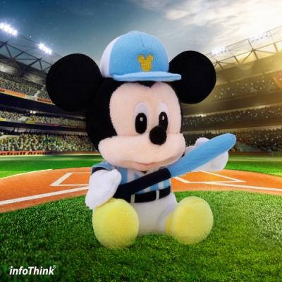 InfoThink迪士尼系列絨毛藍牙喇叭-棒球米奇