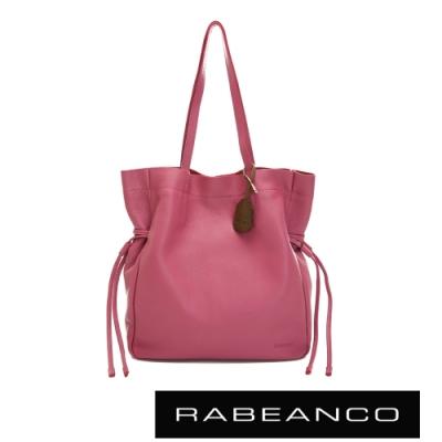 RABEANCO RUTA束口直立式托特包 粉紅
