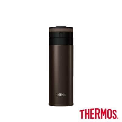 THERMOS膳魔師 輕量自動上鎖不鏽鋼保溫瓶0.35L(JNS-351-ESP)