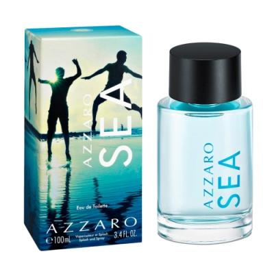 AZZARO 潑潑系列 SEA海洋潑潑中性淡香水100ml(贈隨機針管)