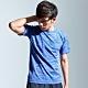 【AIRWALK】麻花線條設計圓領T恤-藍色