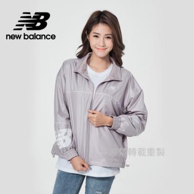 [New Balance]平織拉鍊外套_女款_藕紫色_AWJ11502LWD