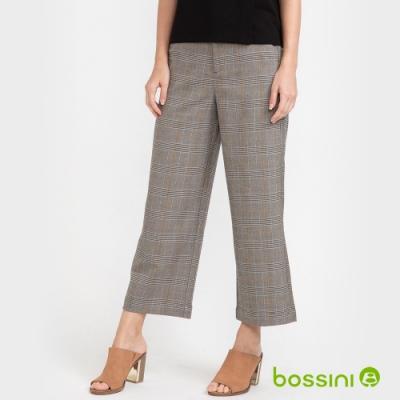 bossini女裝-彈性寬褲01淺灰