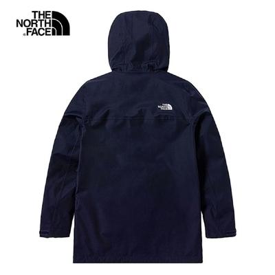 The North Face M MFO F21 TRAVEL RAIN ZIP-IN JKT  男 防水防風衝鋒外套 藍-NF0A7QR9L4U