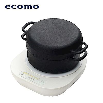 ecomo cotto cotto IH電磁爐 x 南部鐵器萬用鍋組