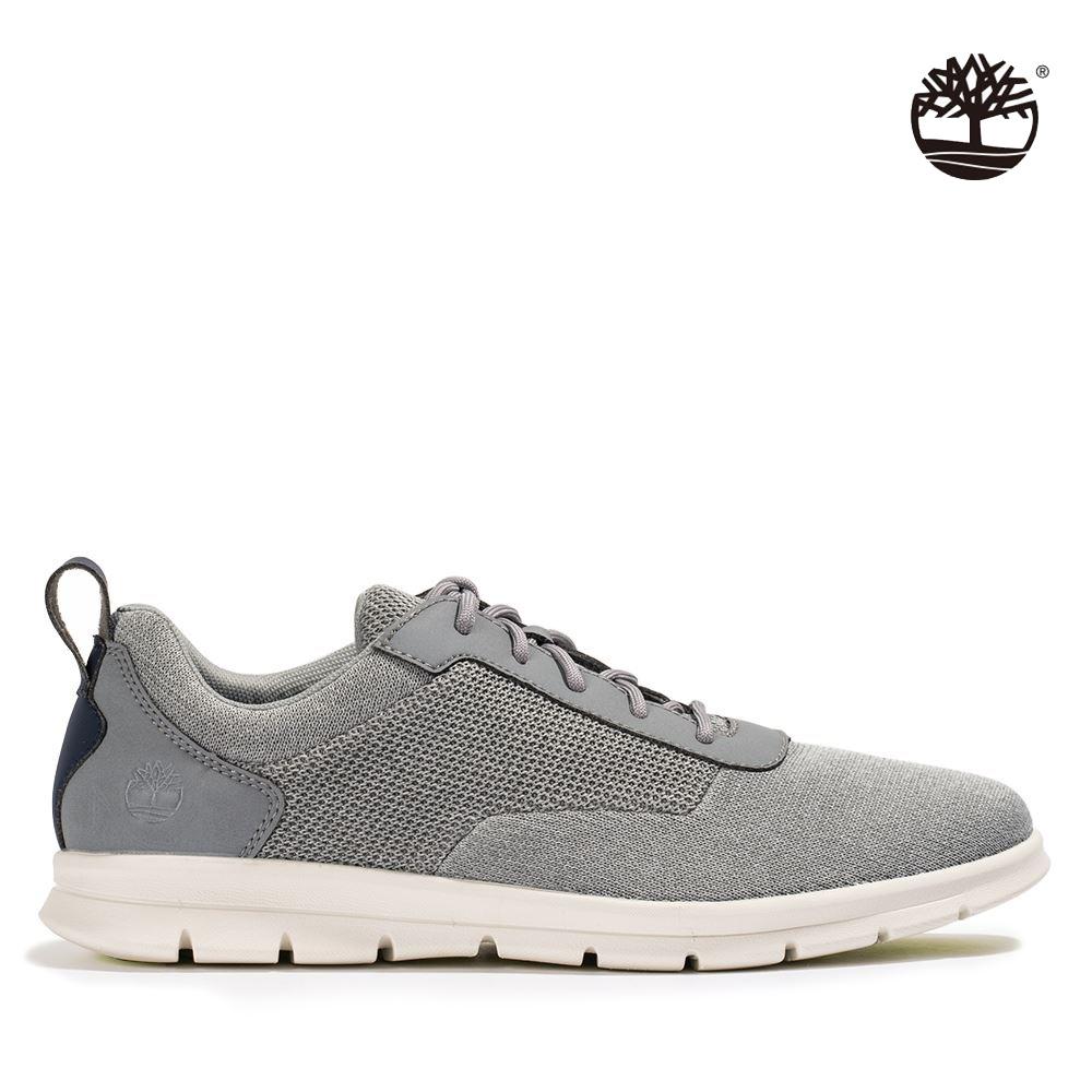 [限時]Timberland男款百搭休閒鞋(2款任選) (B灰色網布)