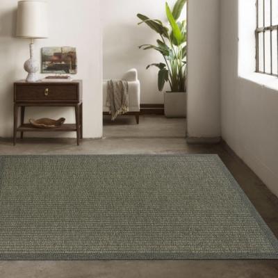 Ambience 比利時Hampton 平織地毯 #90010灰綠(160x230cm)