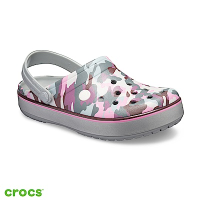 Crocs 卡駱馳 (中性鞋) 卡駱班印花克駱格 205834-0GF