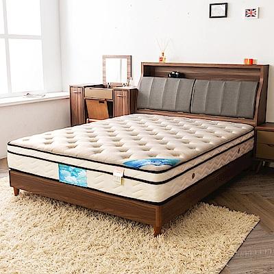 時尚屋 翠絲特厚一層三線5尺雙人獨立筒彈簧床墊