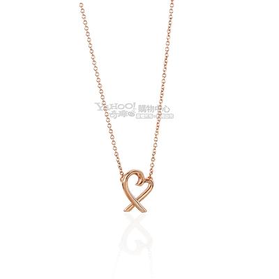 Tiffany&Co. Loving Heart 18K玫瑰金項鍊(迷你)