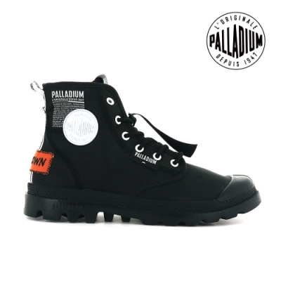 PALLADIUM PAMPA LITE OVERLAB輕量標籤軍靴-中性-黑