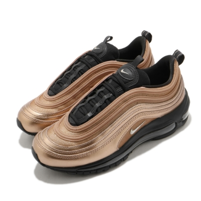 Nike 休閒鞋 Air Max 97 反光 運動 女鞋 經典款 氣墊 舒適 避震 球鞋 穿搭 棕 黑 CT1176900